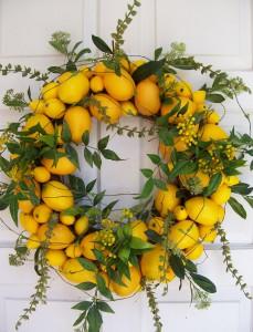 lemon-wreath-love